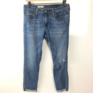 AG The Premiere Skinny Straight Jeans